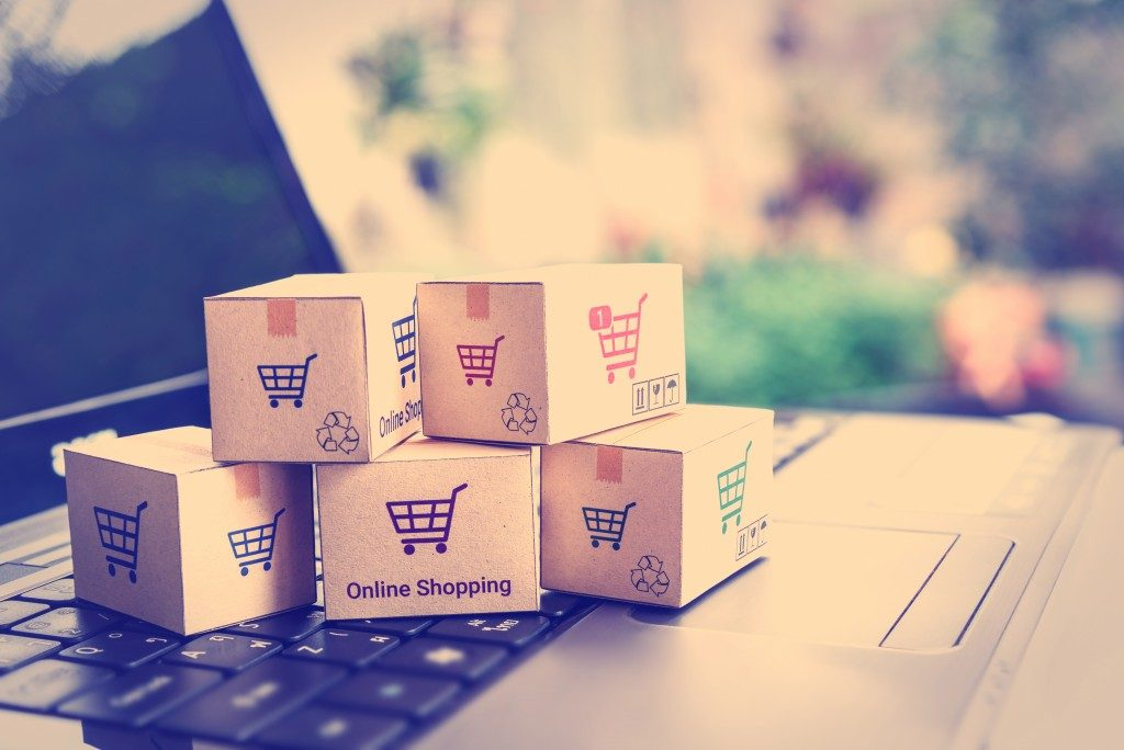 Online Shopping Boxes