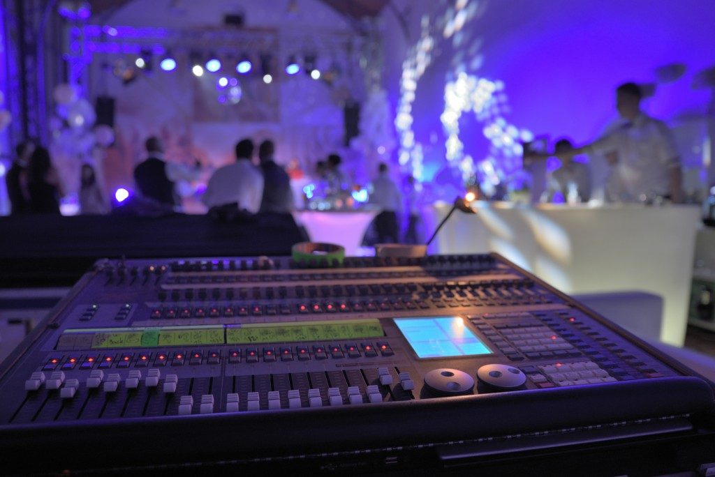Wedding light and sound system