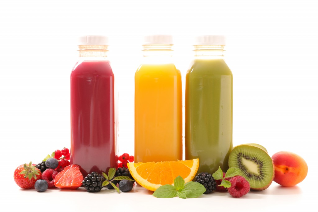 Different fruit smoothies for people on diet
